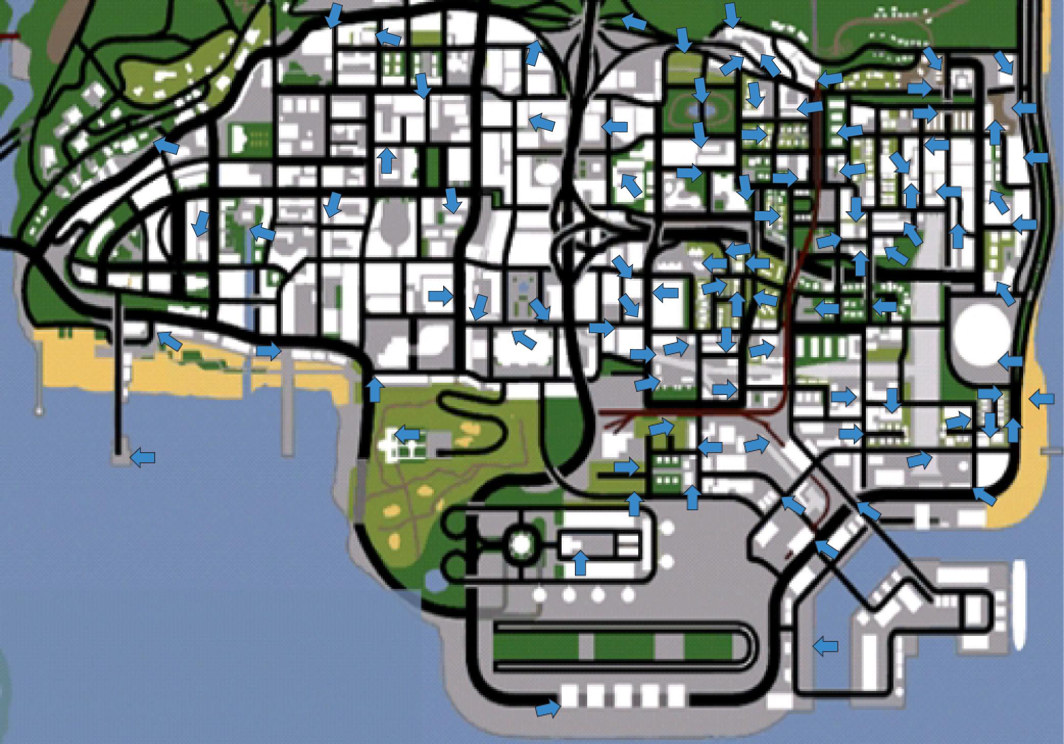 Подарки и другие предметы » GTA San-Andreas - Секреты 79